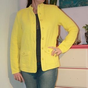 Isaac Mizrahi Live! Yellow Jacket